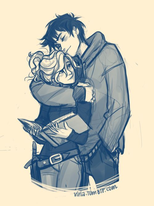 okay, it's official. I have no a clearest idea how did I survive such a long time without Percabeth. I just don't know. Percy sure likes to distract her. Not like Annabeth minds though>:3