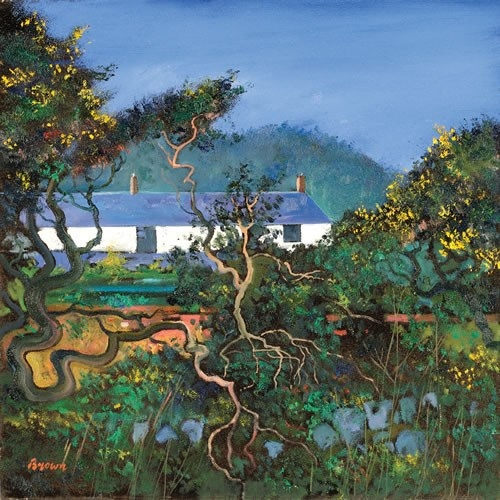 Art Prints Gallery - Cottages with Gorse Bushes (Limited Edition), £139.00 (http://www.artprintsgallery.co.uk/Davy-Brown/Cottages-with-Gorse-Bushes-Limited-Edition.html)