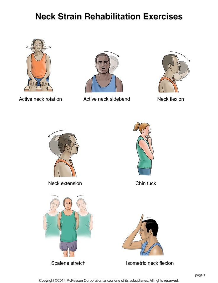 Summit Medical Group Neck Strain Exercises Fitness