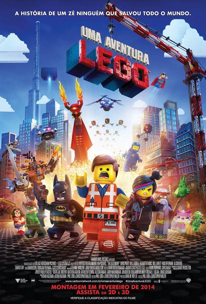 Filme de Animação Uma Aventura Lego estreia nesta sexta (07)