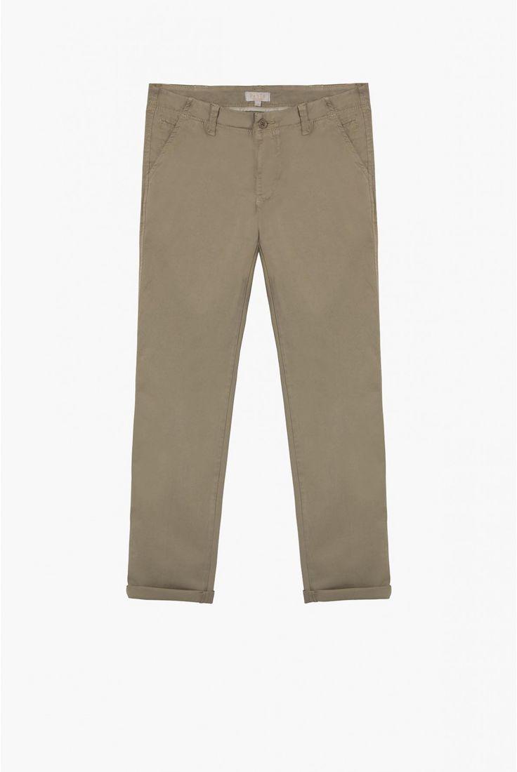 Pantalon argile, allan | pablo