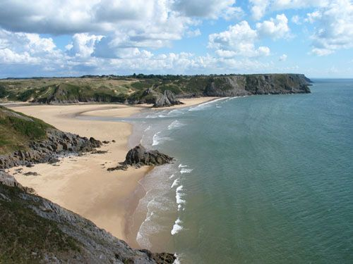 Tor Bay and Three Cliffs Bay, Gower