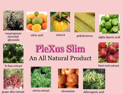 What's in Plexus Slim?