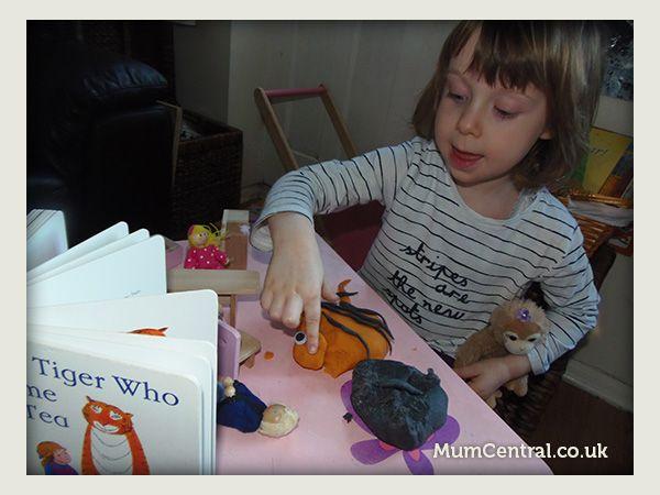 MumCentral - The Tiger Who Came to Tea Play Dough