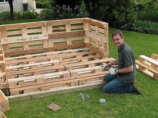 Meuble Jardin Palette Plan Abri Spa Cabane Jardin Palettes