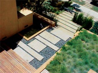 LandscapeOnline.com :: Article : Landscape Design for the modern, minimalist home