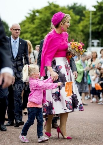 koningin maxima en Amy 29-6-2017