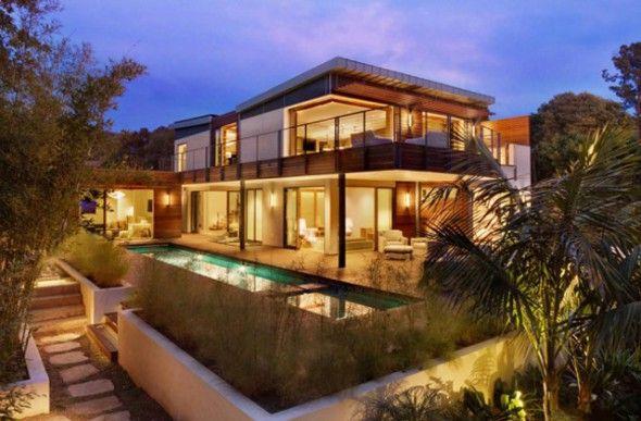 Maison de r ve de luxe design et nature la beach house california pour vous servir maisons - Maison rustique luxe montecito grant ...