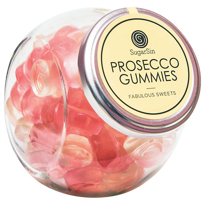 Sugarsin Prosecco Gummies, these are delish! / Sweets for Adults /
