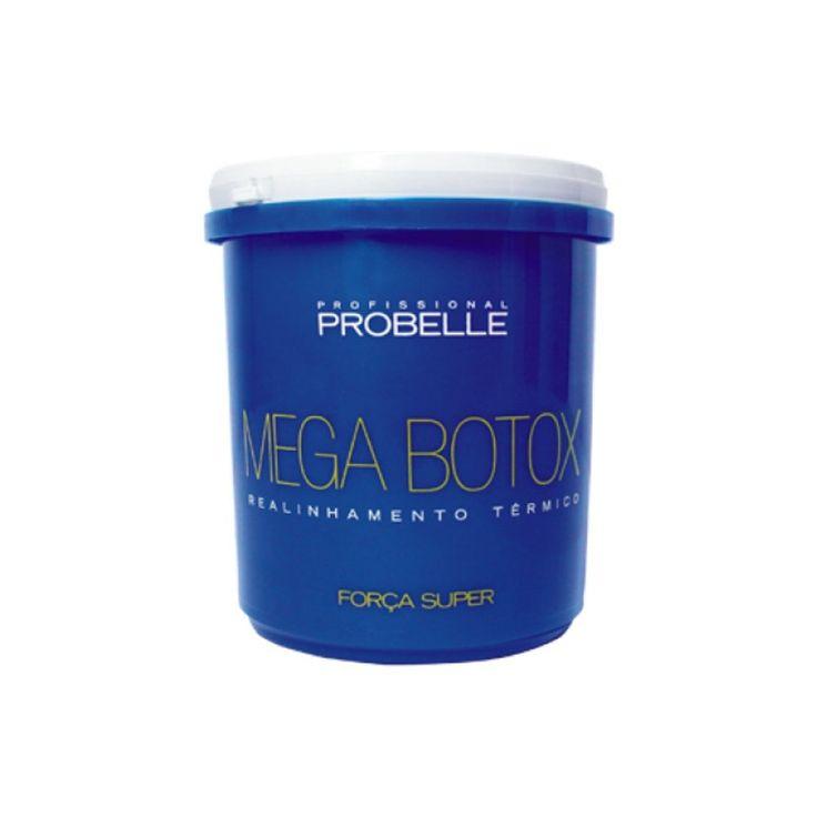 Probelle Mega Botox Realinhamento Térmico 1kg - www.novabela.com.br