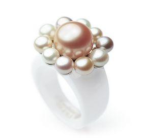 Ring mit Perlen - EHINGER SCHWARZ 1876