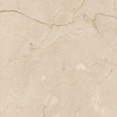 Master Bath Countertop: Crema Marfil Marble, same as shower threshold