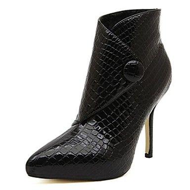damesschoenen mode laarzen wees teen naaldhak enkellaarsjes met de knop meer kleuren beschikbaar – EUR € 27.26