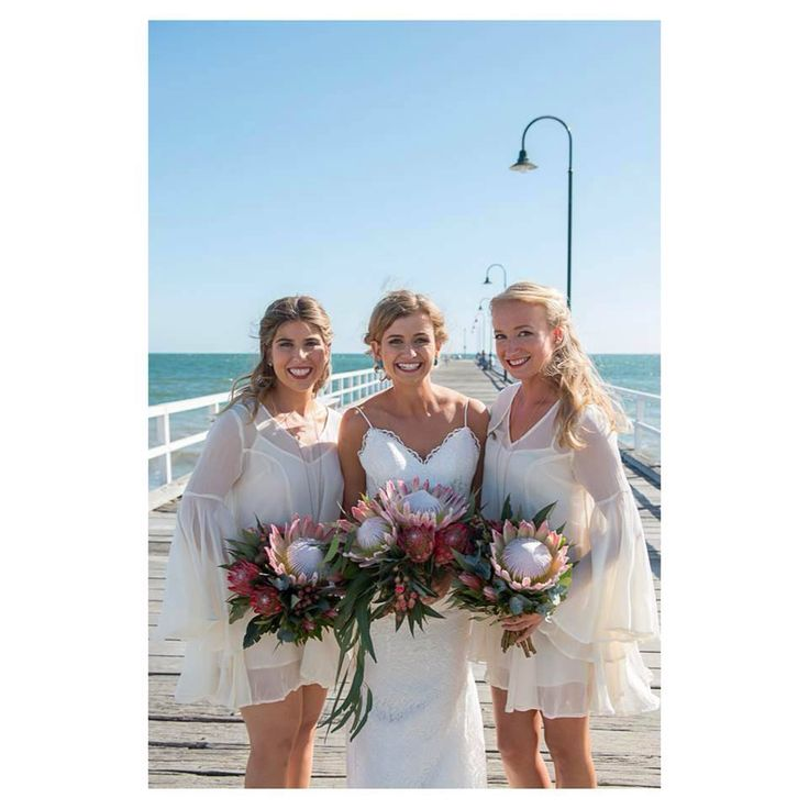 King Protea Wedding Bouquets at Peninsula Wild Flower