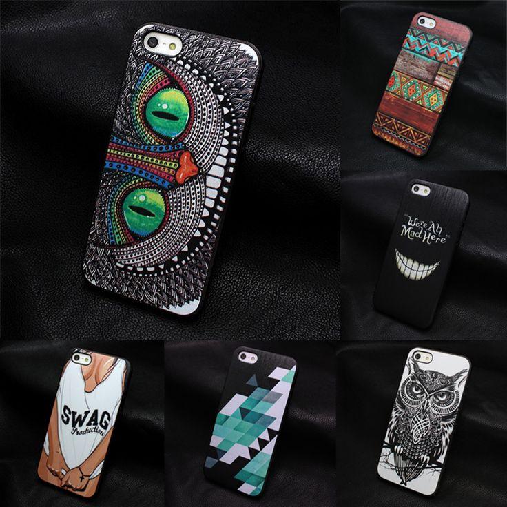2015 neu kommen für apple iphone 4 4 s 5 5 s se 5c 6 6 s 7 plus 4,7 5,5 case painted cartoon charakter designer einzigartige hand
