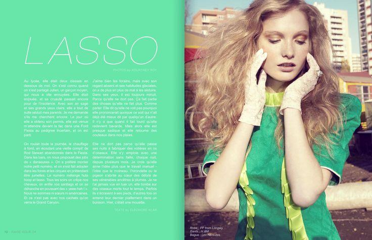 Raise Magazine Issue #4 LASSO