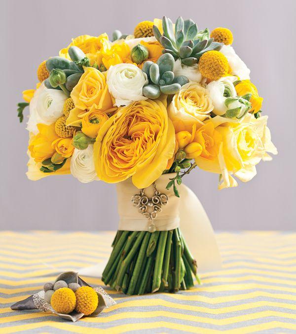 A Colorful Affair: Gray and Yellow Wedding Theme Ideas | Boston Magazine