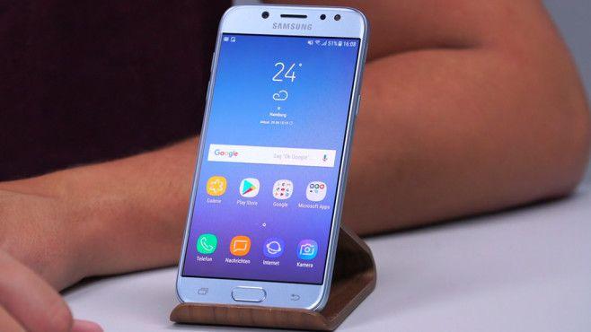 Samsung Galaxy J5 (2017): AMOLED-Display ©COMPUTER BILD