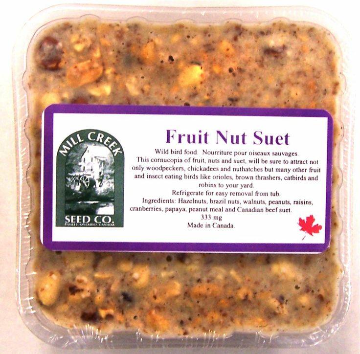 MC-FN  Fruit & Nut Suet Cake. 333 grams