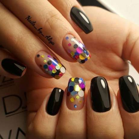 Perfect NYE nails