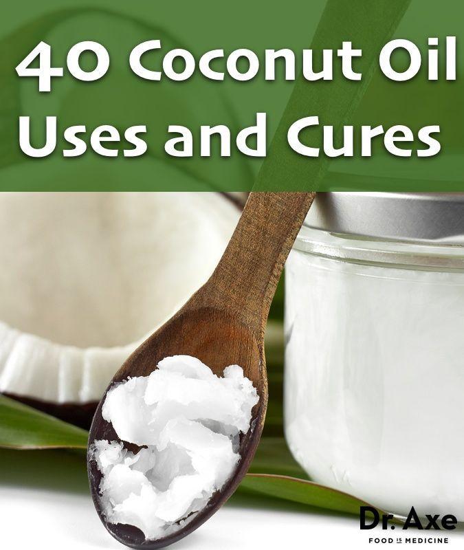 40 Coconut Oil Infographic