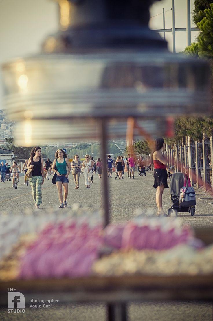 #thessaloniki #paralia #beach #walk #alive #people