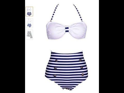 Cocoship Retro 50s Pinup Rockabilly Vintage High Waist Bikini Swimwear S... Cocoship Retro 50s Pinup Rockabilly Vintage High Waist Bikini Swimwear Swimsuits Reviews, Read More reviews from Amazon Buyer : http://www.amzn.com/exec/obidos/ASIN/B00JIUBGGU/httpallpopula-20