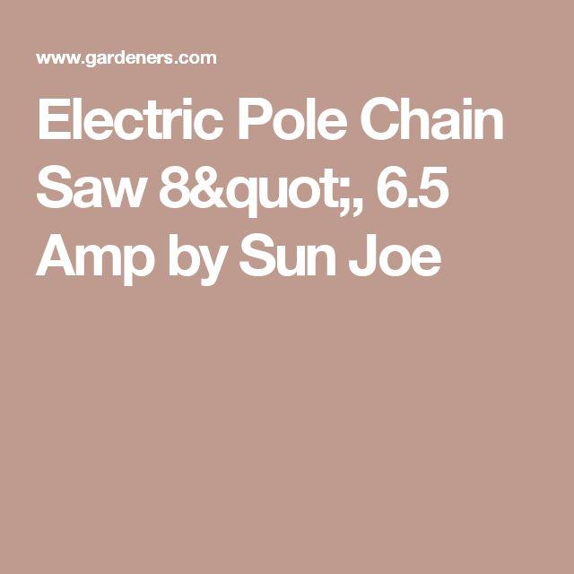 "Electric Pole Chain Saw 8"", 6.5 Amp by Sun Joe"