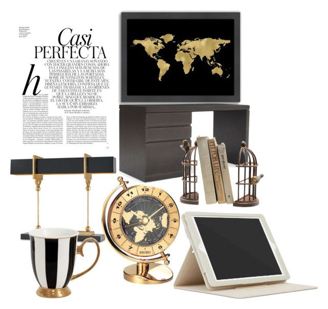 """Luxurious"" by oana-grigorie on Polyvore featuring interior, interiors, interior design, home, home decor, interior decorating, Whiteley, Americanflat, Mitchell Gold + Bob Williams and Seiko Watches"