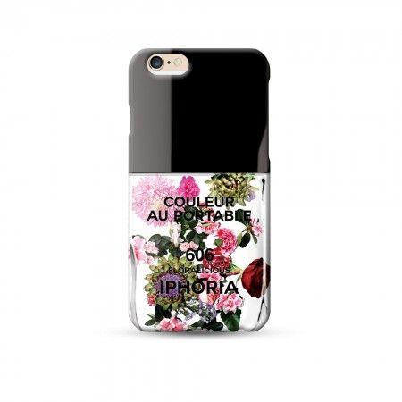 Etui na iPhone IPHORIA COULEUR AU PORTABLE FLOWER CHIQUE IPHONE 6 www.bag-a-porter.pl #fashionable #iphone #fun