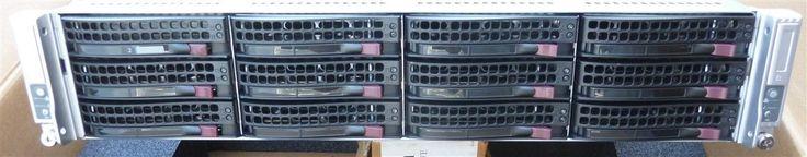 Supermicro SYS 6027TR-DTRF Twin Node 2U servers Bare Bone Rails Heat sinks Trays