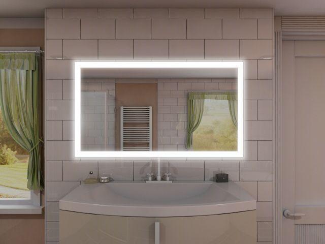 Badezimmerspiegel Beleuchtung Shop Badspiegel Mit Led Beleuchtung