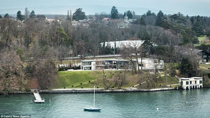 Is This The Most Peaceful Home In World Gorgeous Mansion On Shore Of Lake Geneva Goes Sale But It Will Cost You GBP50million