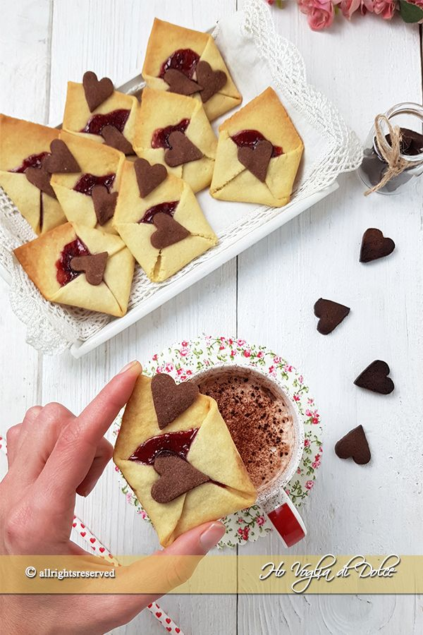 Biscotti lettera d\'amore ricetta San Valentino | Ricette ...