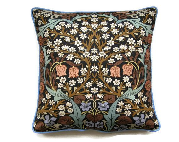 Sanderson William Morris Blackthorn Arts and by leahrosedesigns