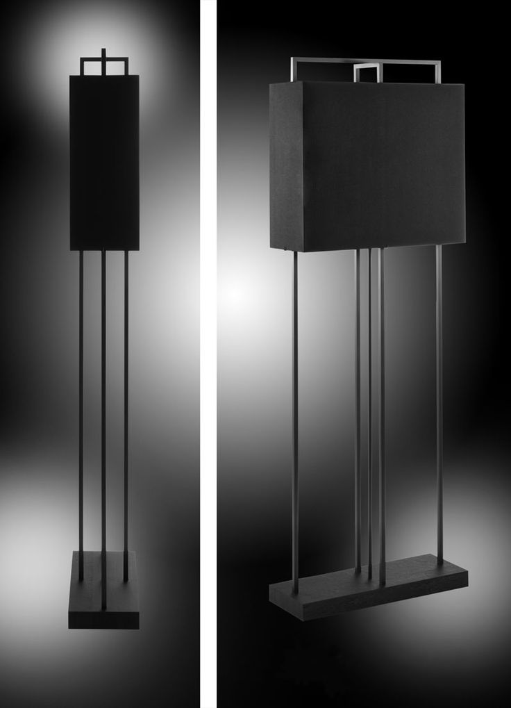 Layer Soho Tall rectangular contemporary floor lamp   Layer by Adje