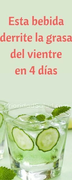 Este bebida derrite la grasa del vientre, te hace perder peso rápidamente. #alimentacionsaludable