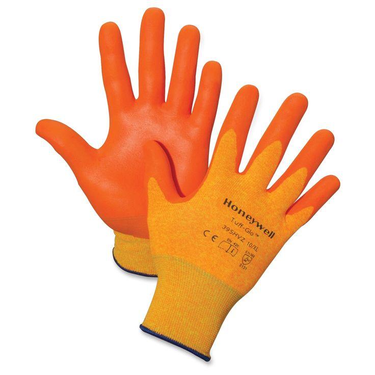 Honeywell Tuff-Glo Hi-Viz Safety Gloves -