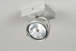 Eat als wandlamp in hal (2x)? plafondlamp 71550: modern, design, aluminium, rond