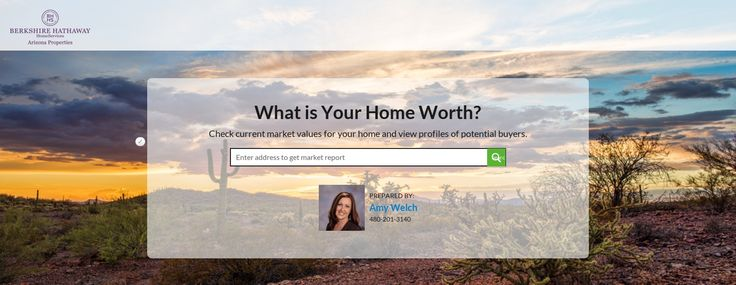 Home Value Estimator by Amy Welch