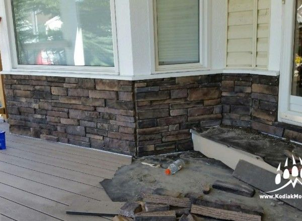 Stacked Ledge Stone (Color: Almond Buff)