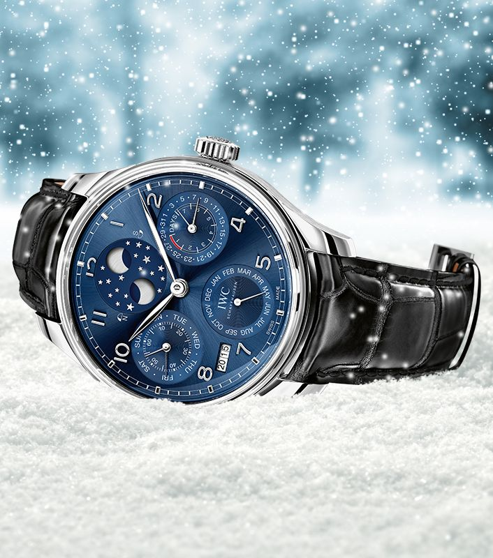 Ready for the Holiday Season with the IWC Portugieser Perpetual Calendar. Add it to your wish list!