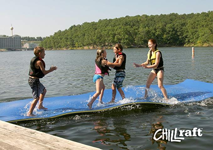 Chillraft Original Floating Mat 6 Feet X 16 Feet X 1 5 Thick Review Floating In Water Floating Mat Water Mat