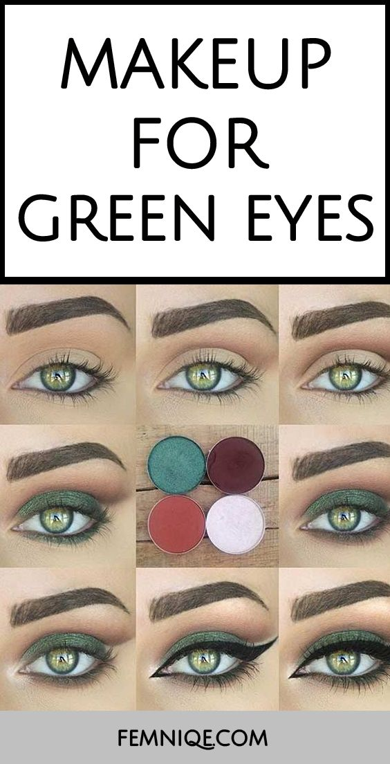 This a fantasic example of Makeup Looks For Green Eyes