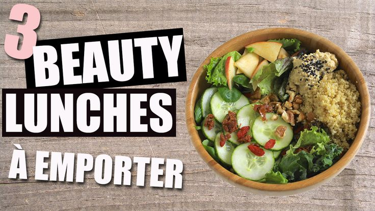 3 Beauty Lunches !