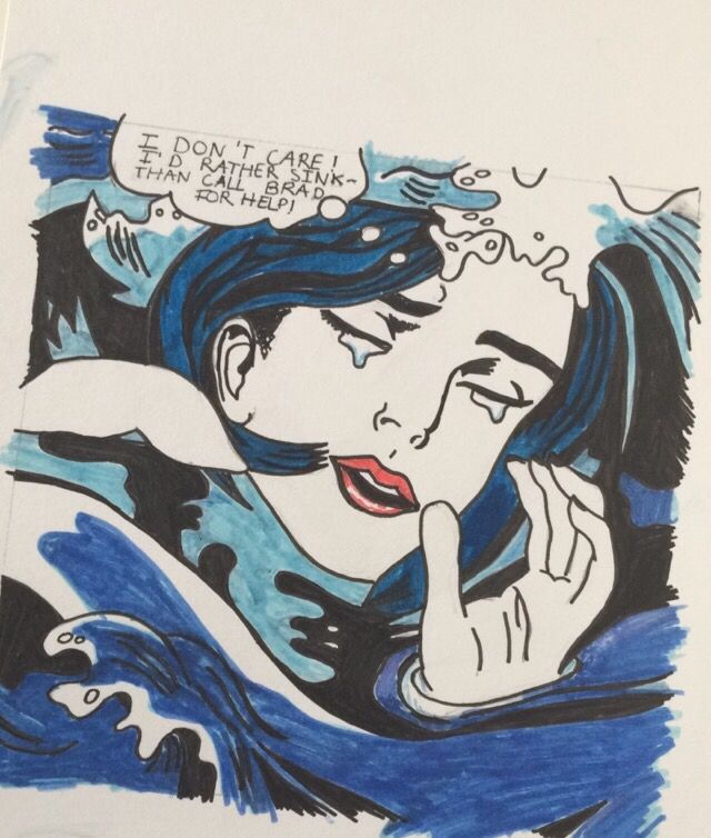 I don't care! [...] Roy Lichtenstein (by Fanny Rocco)