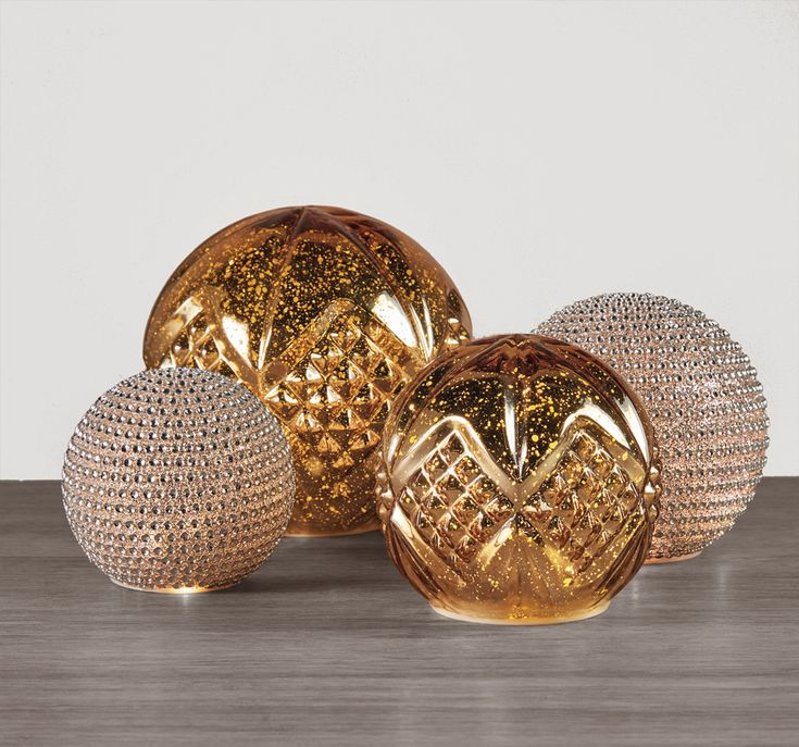 Jewelled LED Ball | Decorative Accents