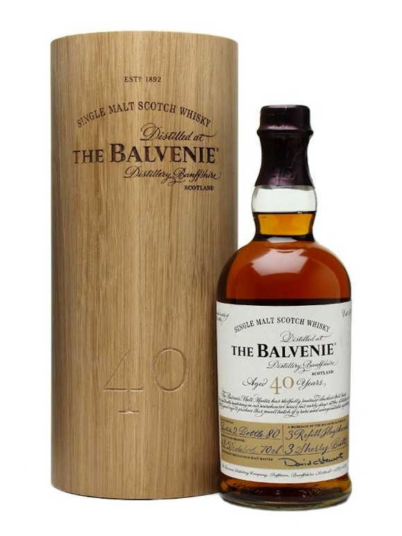 BALVENIE 40 Year Old Single Malt Scotch Whisky, Batch 2