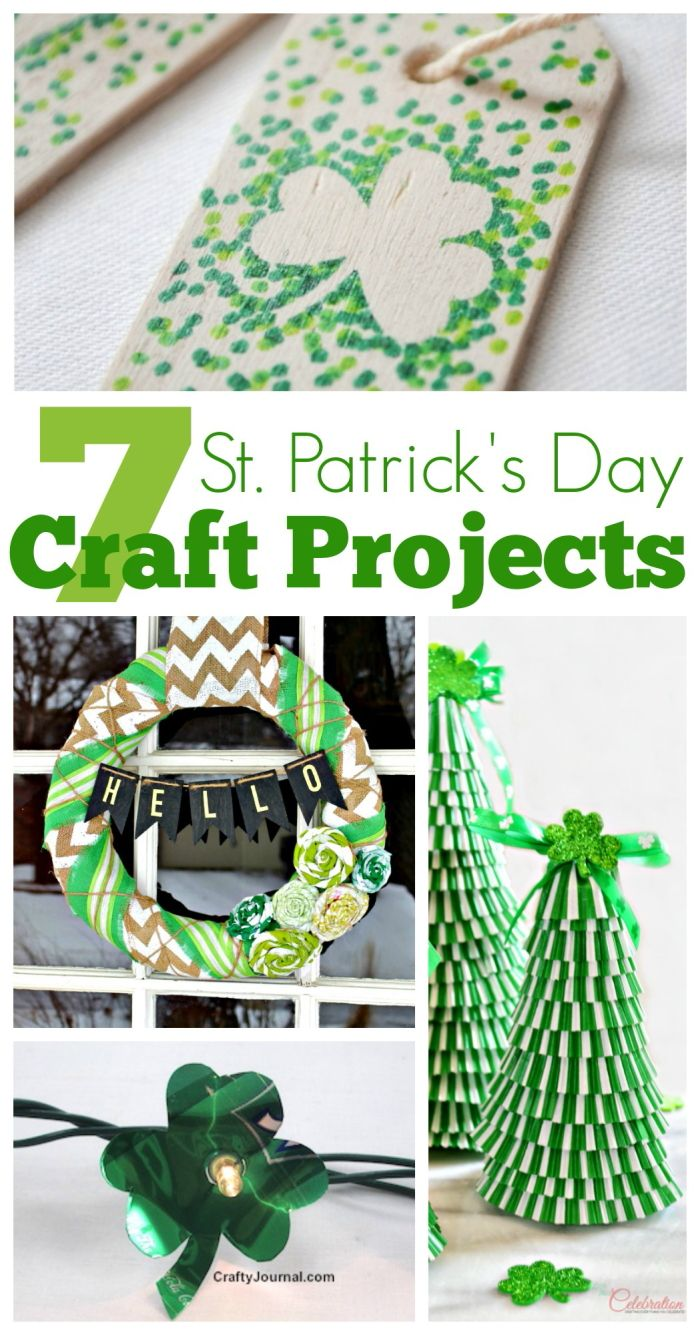 7 st patrick 39 s day craft projects fun crafts for St patricks day decorations for the home