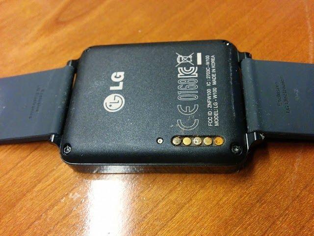 Αναφορές για διάβρωση στα pin φόρτισης του G Watch